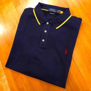 POLO RALPH LAUREN Gold Tipped Polo Shirt